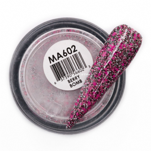 GLAM AND GLITS MATTE ACRYLIC - MAT602 BERRY BOMB